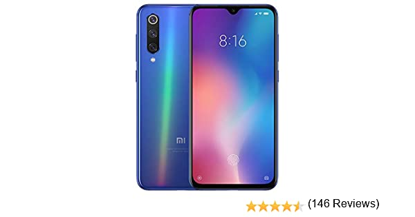 Xiaomi Mi 9 4G 64GB Dual-SIM Ocean Blue EU: Xiaomi: Amazon.es ...