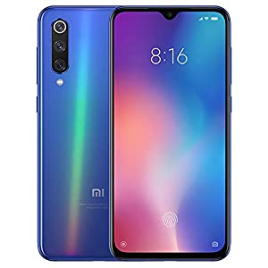 Xiaomi Mi 9 (128GB, 6GB RAM) 6.39″ OLED Display, 48MP Camera, Snapdragon 855, Factory Unlocked GSM Smartphone (Global 4G LTE Version) (Ocean Blue)