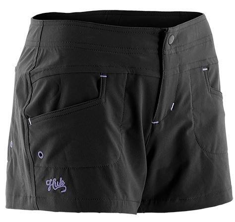 Button Fly Boyshort (Huk H2000014BLKXS Ladies Paupa Boy Short, Black, X-Small)