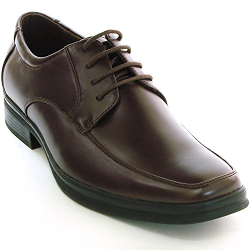 Mocassini Da Uomo Alpini Bern Lace Up Oxford Mocassini Scarpe Da Sera Casual Foderate In Camoscio Marrone
