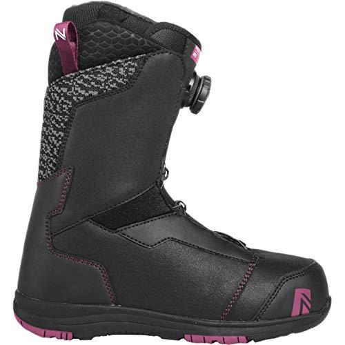Nidecker x Flow Onyx Boa Coiler Snowboard Boot - Women's Black, 8.0