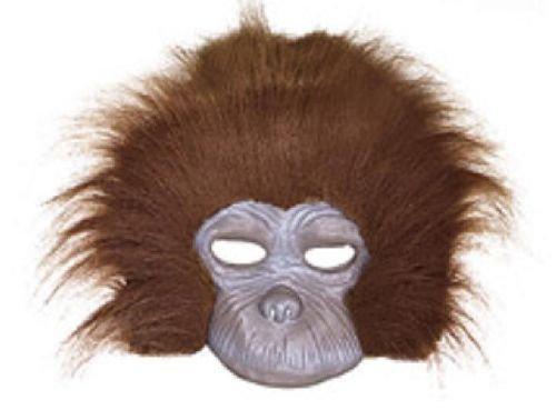 Adult's Chimp Fancy Dress Mask (Fancy Dress Costumes Adults)