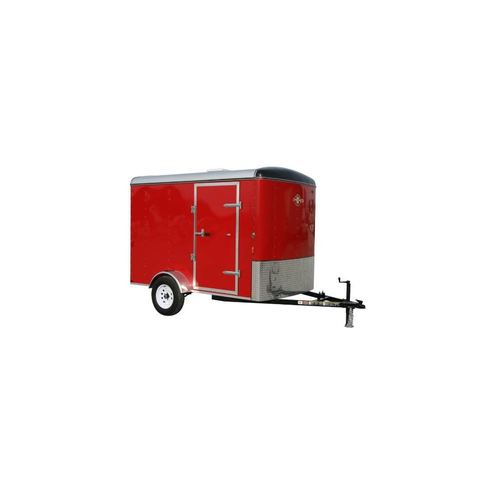 Carry On Trailer 6 x 10 Red Enclosed Trailer 6X10LCGR R