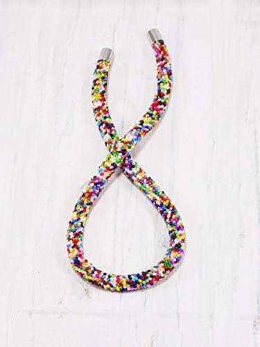 Amazon.com: Handmade Rainbow choker Maasai ornaments