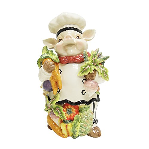 Kaldun & Bogle Home Decor Bistro Couchon Chef Pig Cookie Jar