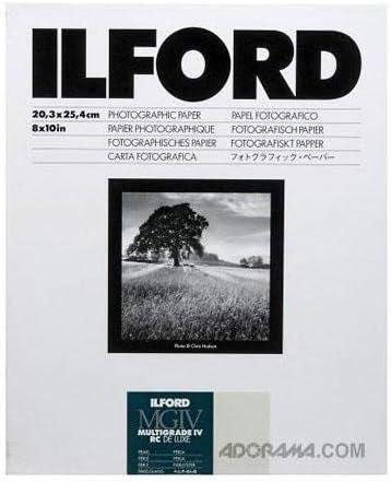 Sheet 1178283 Ilford 1178283 8x10 RC Pearl 25+5 30