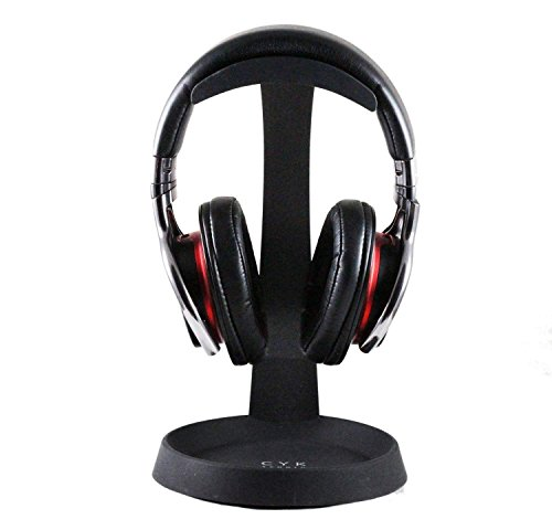 Navitech Steel On Ear & Over Ear Headphones Stand Holder Compatible with The Sunvito 5 in 1 Foldable Wireless Bluetooth Earphone