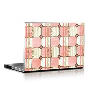 Skins4u portátil Netbook Skin pegatinas de hasta 33.02 cm portátiles 30,5 x 25,4 cm - Chic Check