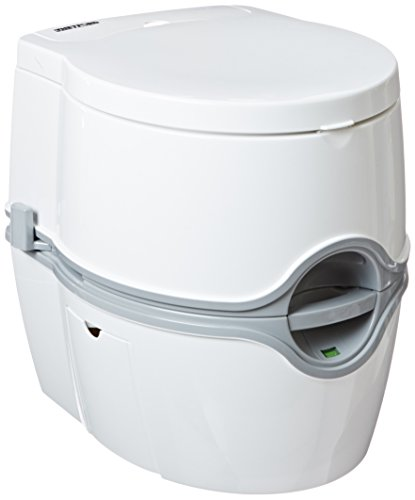 Porta Potti Curve Portable Toilet for RV | camping | vans | trucks | healthcare | boats - model 550E, by Thetford - 92360