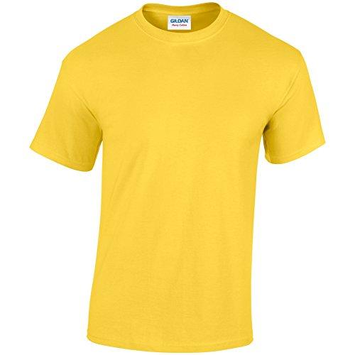 Gildan Heavy Camiseta de algodón para adultos Daisy