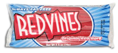Red Vines Licorice - The Original Old-Fashioned Red Vines - 2.4 oz Nostalgia Pack