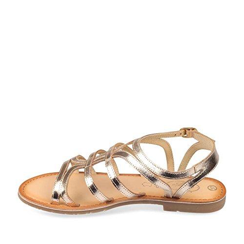 MEGIS CASUAL - Sandalias de Vestir de Material Sintético Mujer