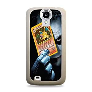 Joker Holding Charizard White Designer Protective Case Cover for Samsung Galaxy S5