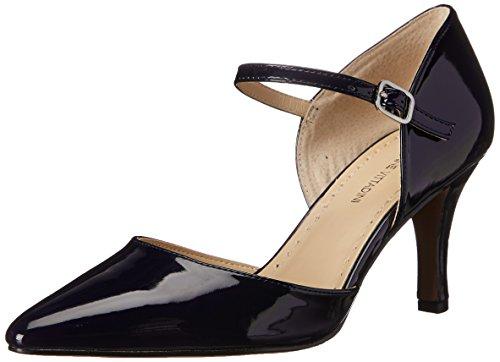 Adrienne Vittadini Footwear Women's Jon Dress Pump, Navy, 6 M US