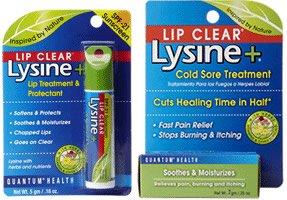 Lysine et lèvre claire Coldstick pour le traitement de l'herpès labial - 5g