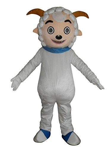 (Sheep Goat Cartoon Mascot Costume Fancy Dress Cosplay Suit)