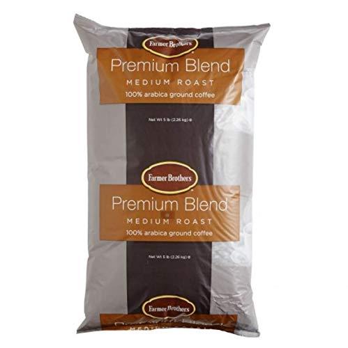 - Farmer Brothers Medium Roast Ground Coffee 2 X 5lbs Ground Coffee 1271-2