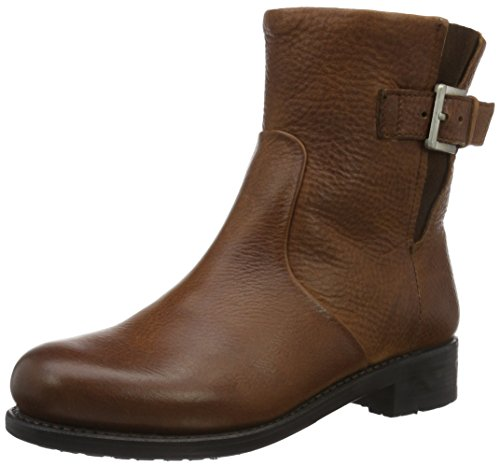 Blackstone Women's Mw63 Ankle Boots, Black (Black) Brown - Braun (Old Yellow)