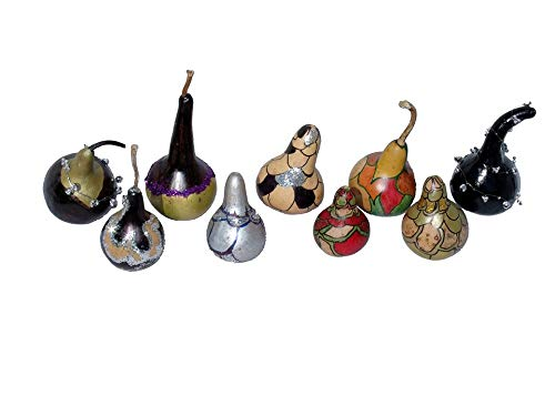 Home Comforts Canvas Print African Gourds Christmas Ornaments Gourds Vivid Imagery Stretched Canvas 32 x ()