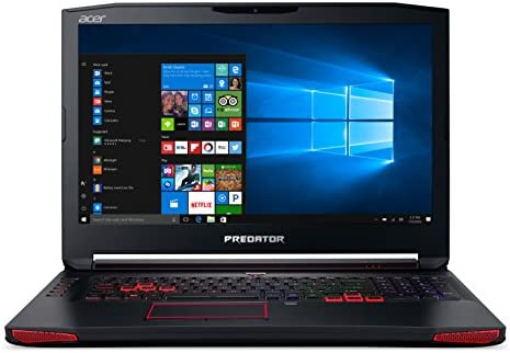 Acer Predator 17 Gaming Laptop, Core i7, GeForce GTX 1070, 17 3