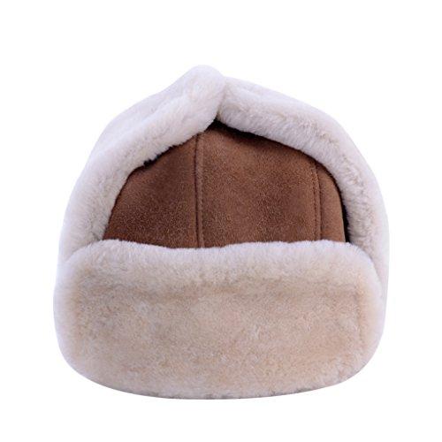 Furoom genuine sheepskin hat BOMBER (S)