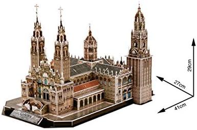 CubicFun- Puzzle 3D Catedral de Santiago (CPA Toy Group Trading ...