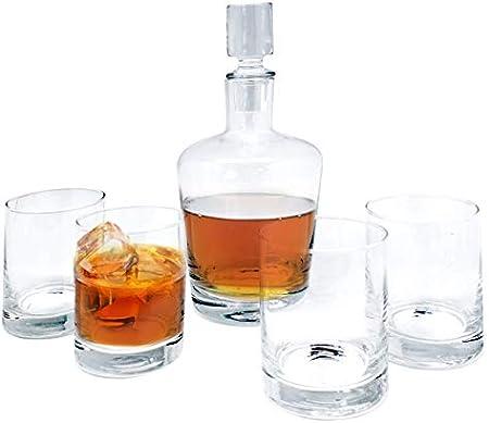 Vinbouquet Set De Whiskey Transparente Fia 362, Cristal
