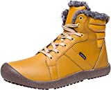 JIASUQI Womens Lightweight Sports Shoes Ankle Waterproof Snow Boots Yellow 6.5 M US