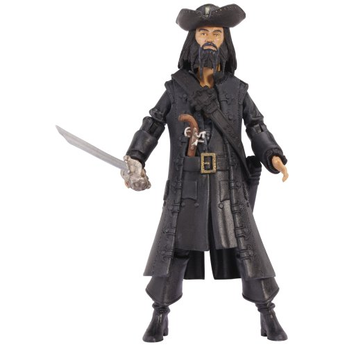 Pirates Of The Caribbean Basic Figure Wave #1 Blackbeard V1P4