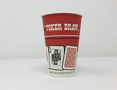 Solo Poker Draw Paper Hot Cups. 12 Ounce. 75 Pack