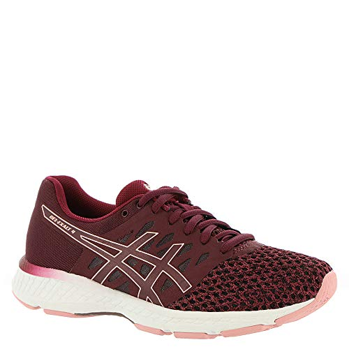 ASICS Womens Gel-Exalt 4 Running Shoe, Port Royal/Frosted Rose, Size 9