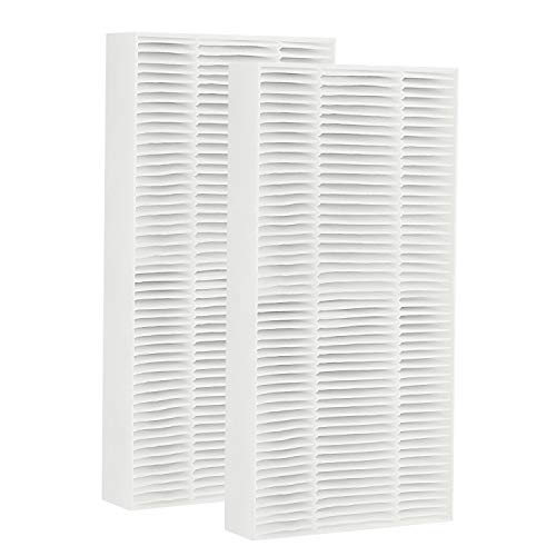 isinlive HEPA Air Purifier Replacement Filter 2 Pack Febreze FRF102B, Removes Smells and 99.7% of Dust Particles