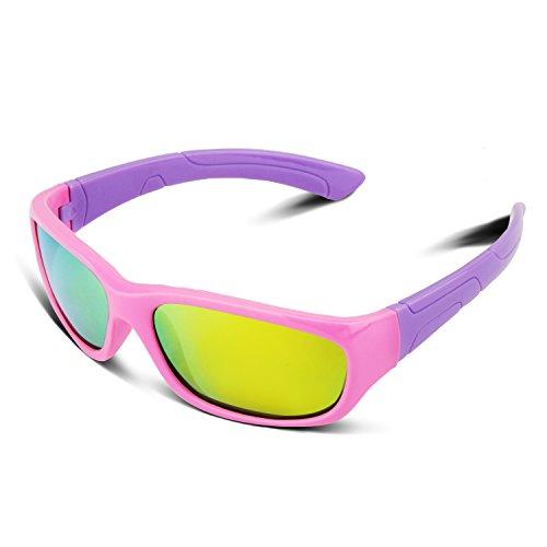 保护宝贝的视力!RIVBOS 儿童太阳眼镜