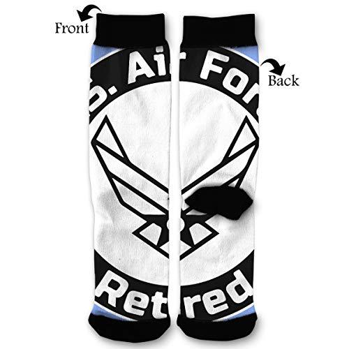 Fashion Travel Breathable Socks US Air Force Retired Men & Women Running Casual Socks