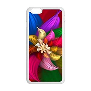 glam colorful flowers personalized high quality cell phone case for Iphone 6 Plus