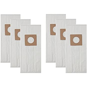 Hoover HEPA TYPE Y & Z Cloth Vacuum Bags for Hoover Upright Vacs (6 Bags Included) By Vacow ClearFlow TM