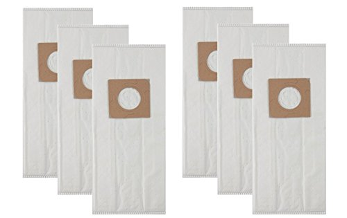 VacFlow Replacement for Hoover HEPA TYPE Y & Z Cloth Vacuum Bags TYPE YZ(6 Bags - Bag Cloth Replacement