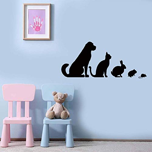 Koier Quote Mirror Decal Quotes Vinyl Wall Decals Veterinary Clinic Animals Pets Dog Cat Rabbit Hamster ()