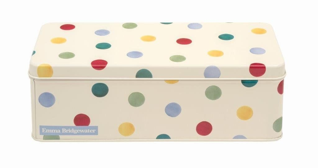 Emma Bridgewater - Polka Dot Original Long Deep Rect 24x10x7.8cm Elite Gift Boxes