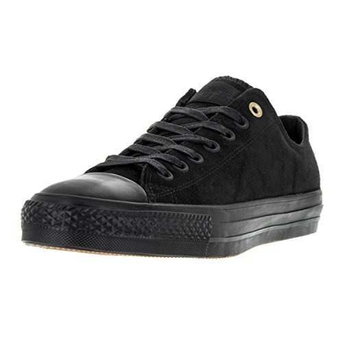 Converse Unisex One Star Pro Ox Black/Black/Storm Wind Skate Shoe 12 by Converse