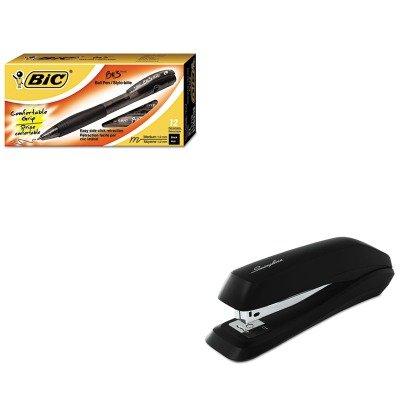 KITBICBU311BKSWI54501 - Value Kit - BIC BU3 Retractable Ball