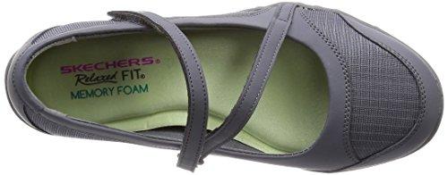 Skechers Breathe-Easy - Marigold Damen Sneaker Grau