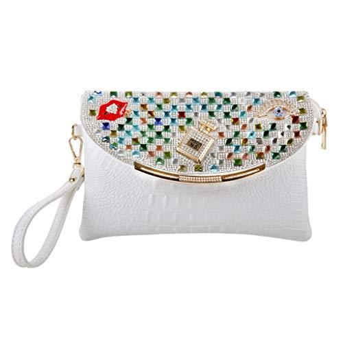 Fashion JUZHIJIA JUZHIJIA Bag Diamond Diamond Bag Diamond Shoulder Dinner Bag Diamond HATTn