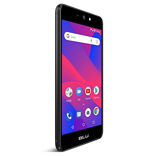 (BLU Advance 5.2 HD - GSM Unlocked Smartphone with Android Oreo -Black)