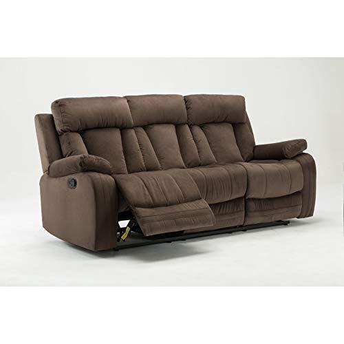 (Blackjack Furniture The Elton Collection Modern Reclining Living Room Sofa,)