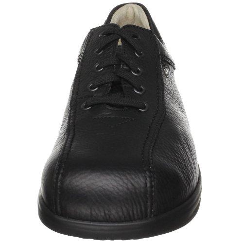 Finn Comfort - Zapatos de cordones de cuero para hombre, color negro, talla 44