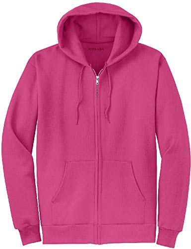 Joe's USA Full Zipper Hoodies - Hooded Sweatshirts Size 4XL, -