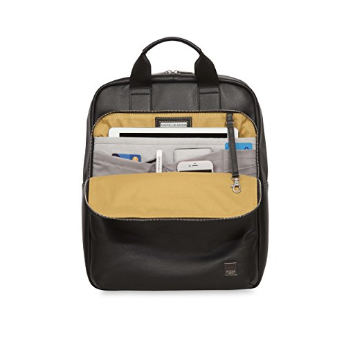 Knomo Luggage Men's Dale Business Backpack, Black, One Size by Knomo (Image #2)