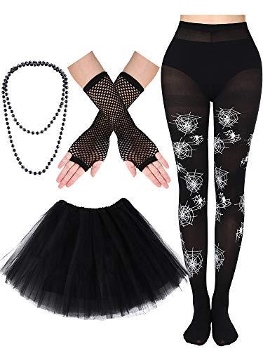 4 Pieces Halloween Costumes Accessories, Including Tutu