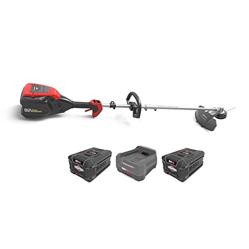 Snapper XD 82V Cordless String Trimmer with Batteries (Pair) & Charger